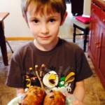 Carter finished Banana Bread
