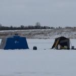 Ice Fishing houses 12.25.15